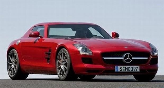 Mercedes-Benz SLS AMG Gullwing 01